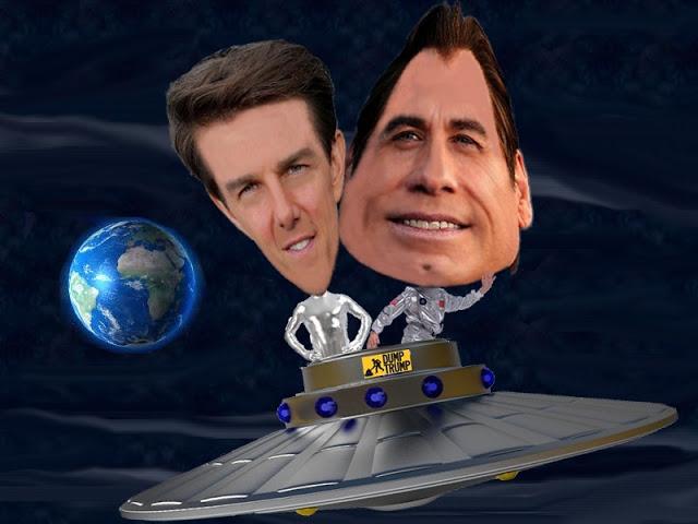 Tom Cruise, John Travolta, Scientology