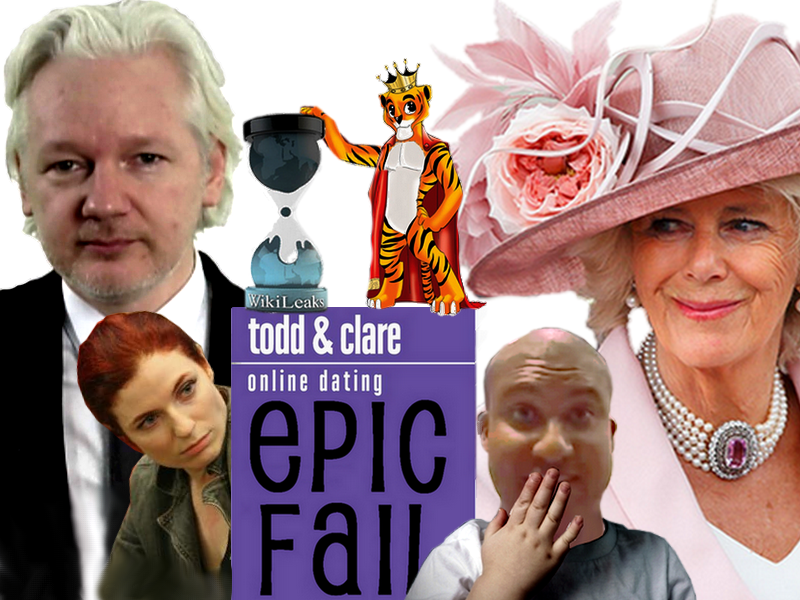 Todd And Clare, Julian Assange And The Duchess Of Cornwall ... Todd Julian Attorney