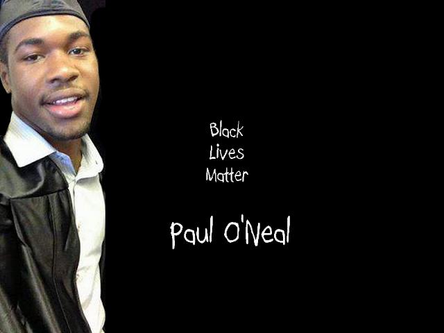 Paul O'Neal, Black Lives Matter
